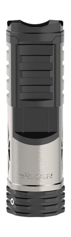 Xikar Tactical 1 Single Jet Cigar Lighter- Gunmetal Black