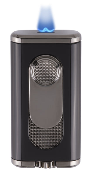Xikar Verano Flat Flame Lighter Black