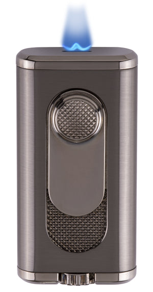 Xikar Verano Flat Flame Lighter Gunmetal