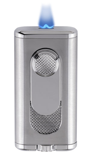 Xikar Verano Flat Flame Lighter Silver