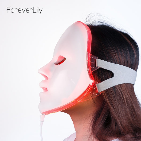 7 Colors LED Light Therapy Beauty Mask