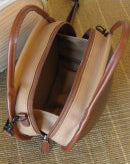 Load image into Gallery viewer, Rare wooden bag Monacca ishikoro brown
