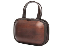 Load image into Gallery viewer, Rare wooden bag  Monacca kaku-shou Brown