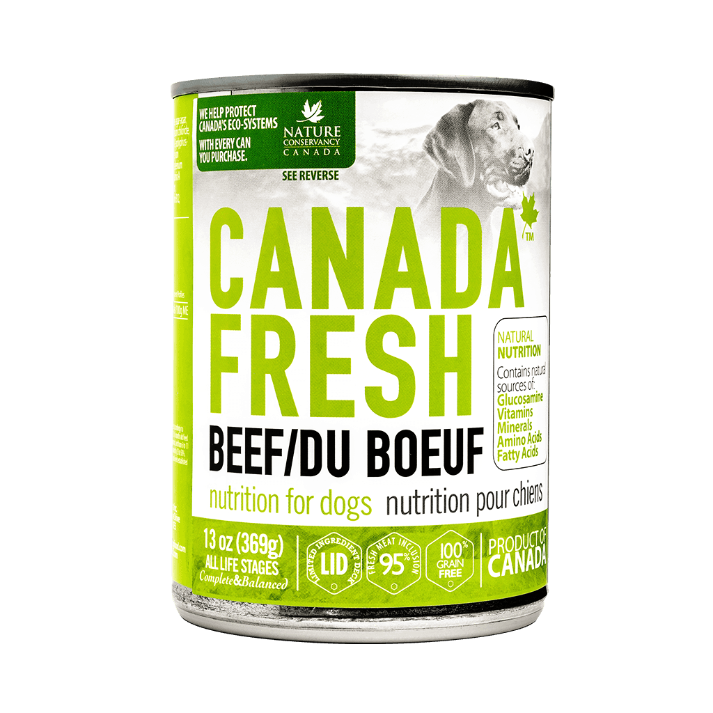 Canada Fresh Beef for Dog 13 oz