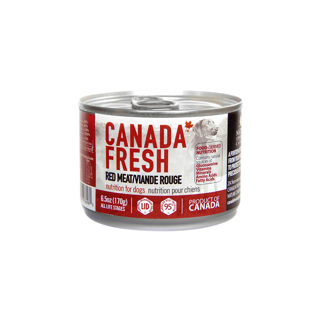 Canada Fresh Red Meat for Dog 6.5 oz