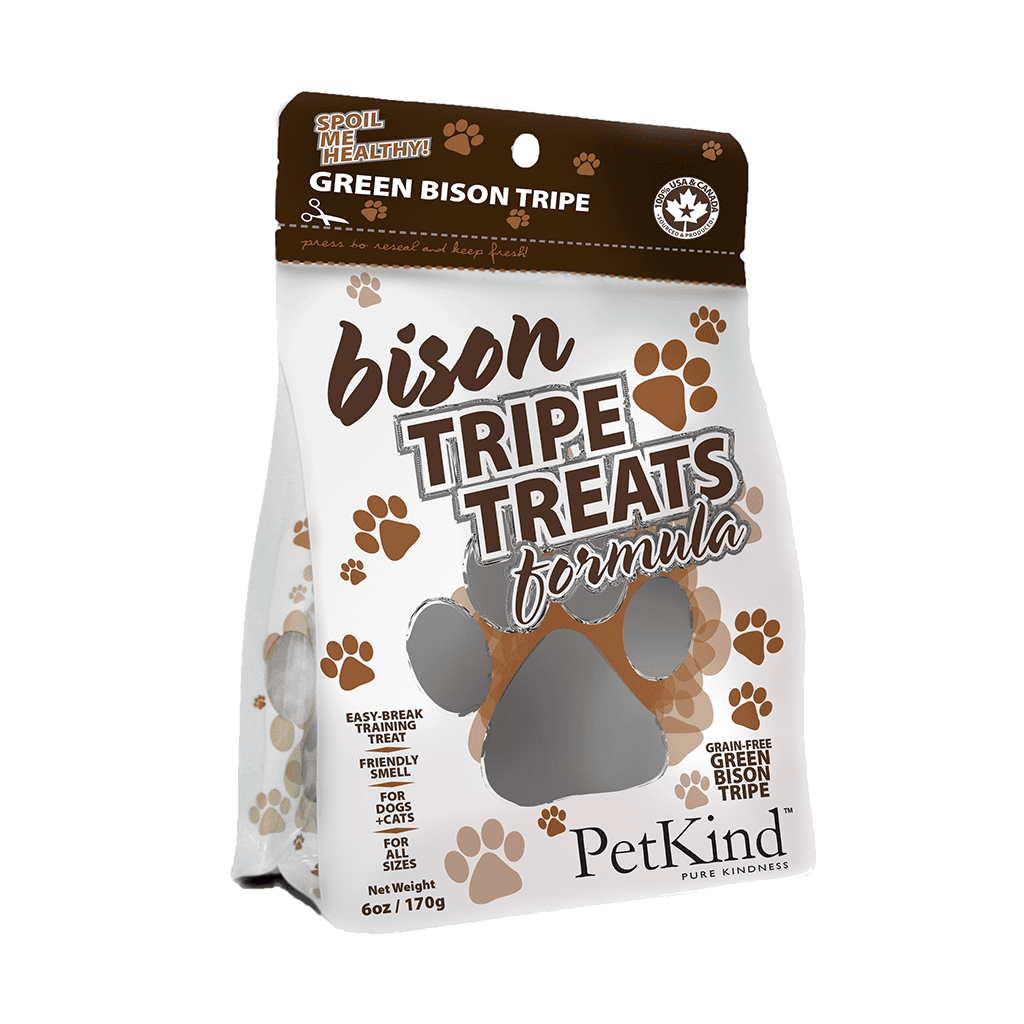 Tripe Treats Bison 6 oz