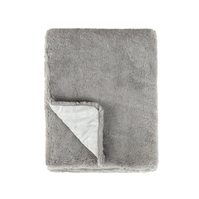 Faux Fur Plush Double Layer Baby Blanket