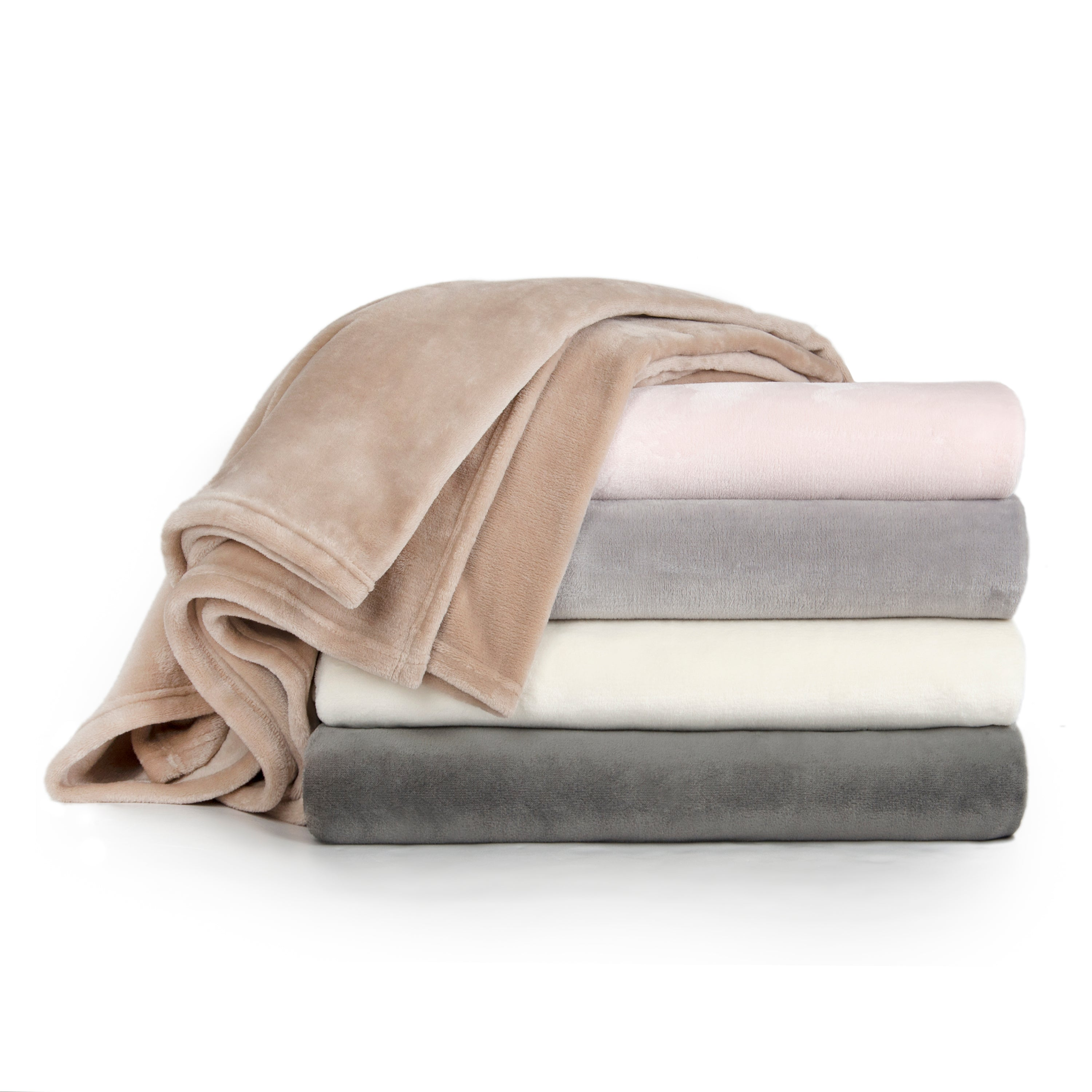Sleeping Partners LUXE Solid Plush Blanket