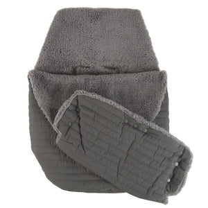 Quilted Stroller & Car Seat Cover with Hand Mitt