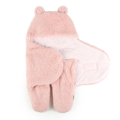 Super Soft Plush Sherpa Swaddle Wrap