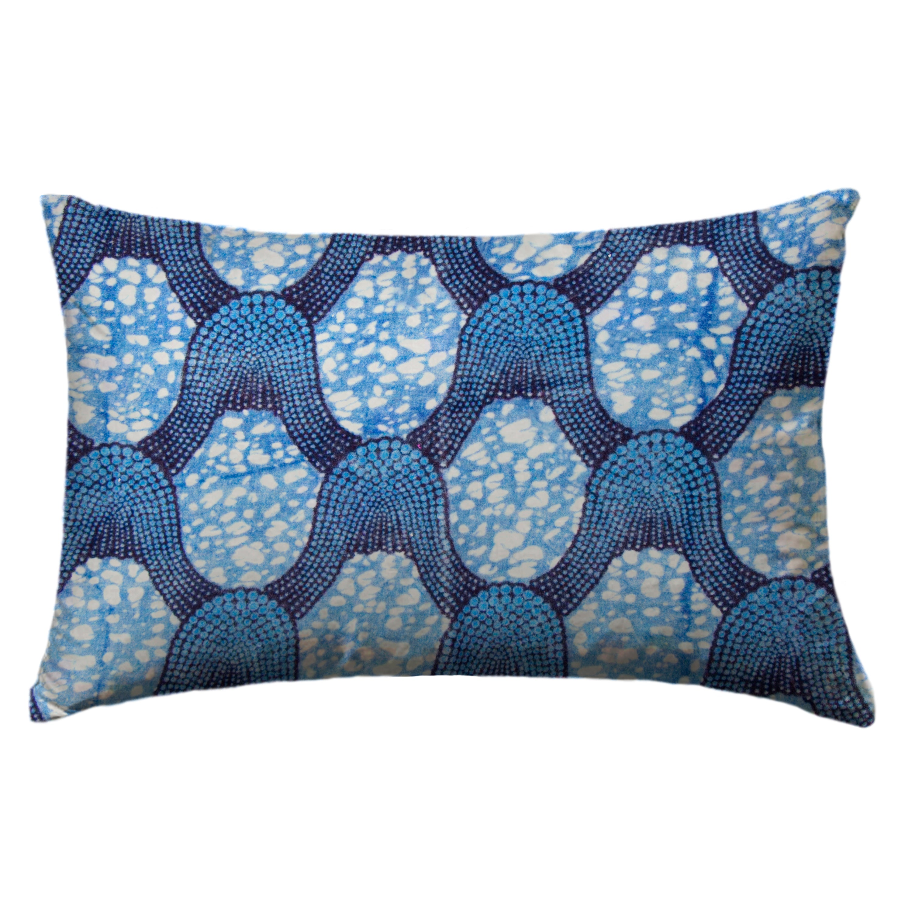 Silk Handwoven Ikat Pillow