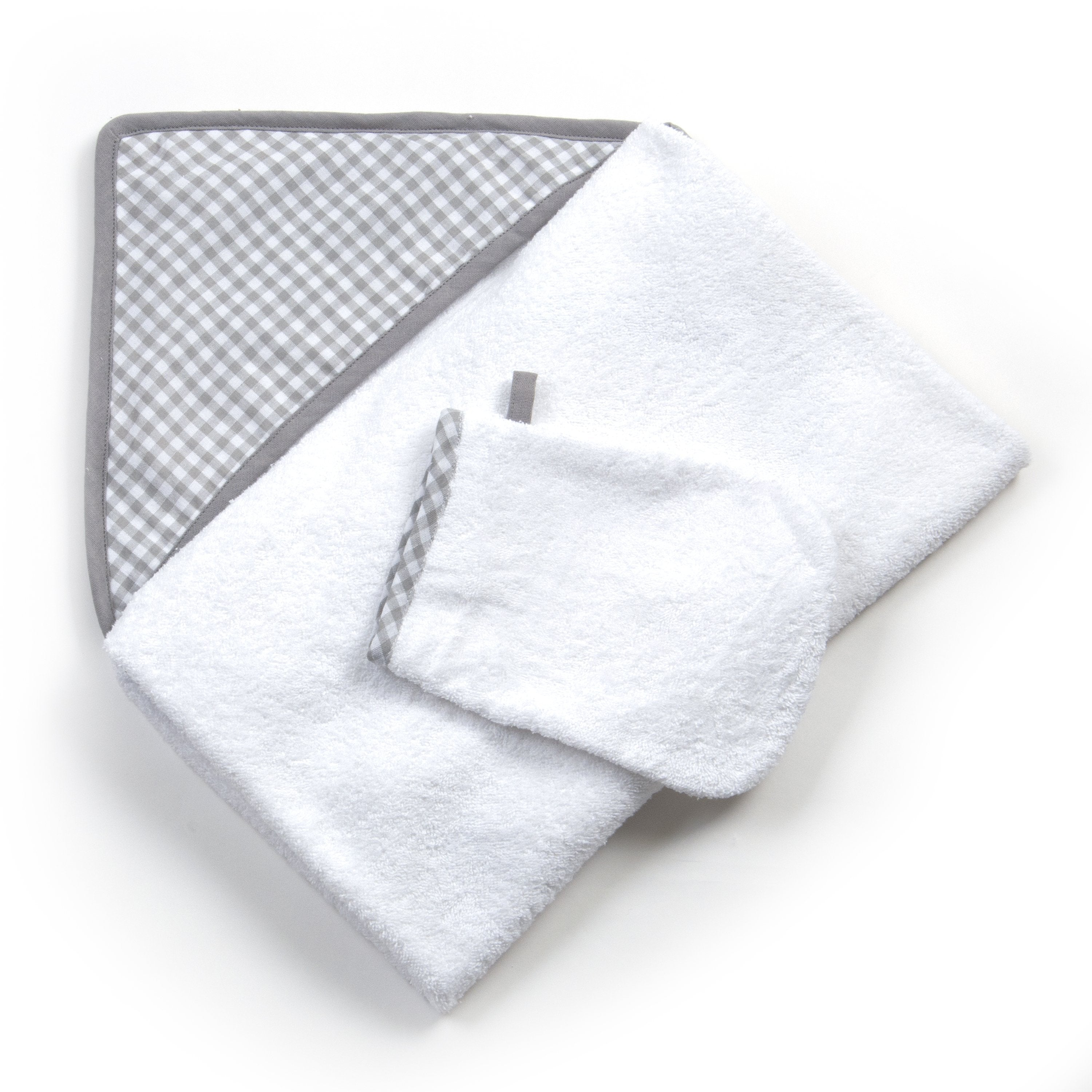 Limited Edition Blue & Grey Moses Basket Gift Set