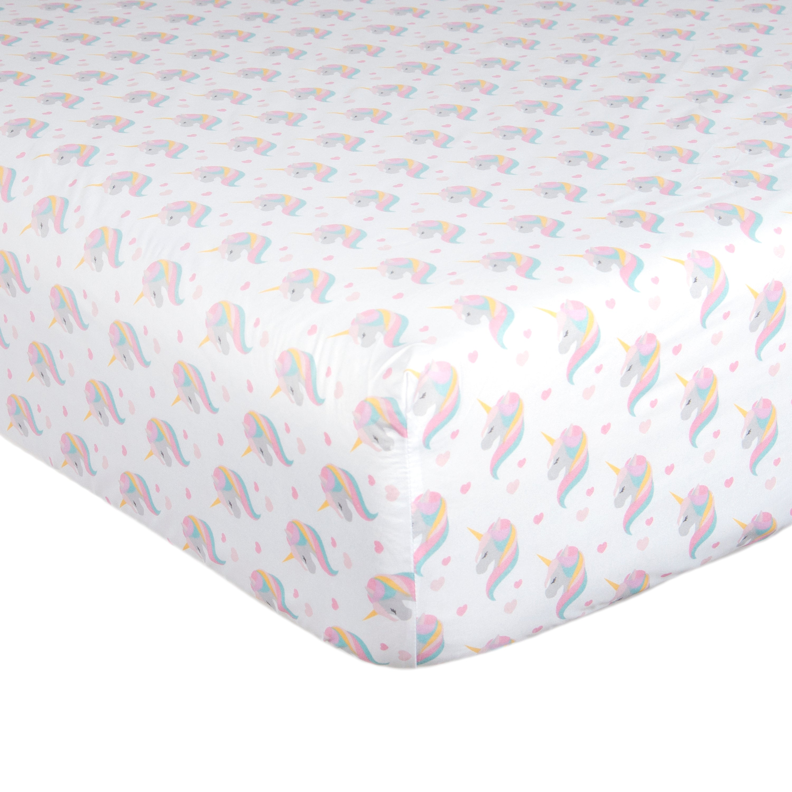 Sheet Set Rainbow Unicorn, Twin & Full/Queen