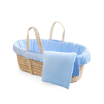 Load image into Gallery viewer, Tadpoles Muslin Cotton Gauze Baby Moses Basket Set