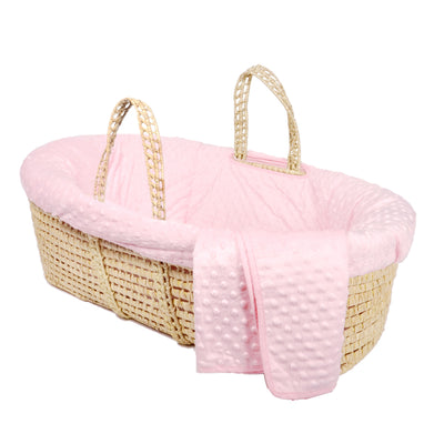 Baby Shower Gift Basket, Pink Elephant