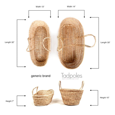 Teddy Bear Moses Basket Gift Set