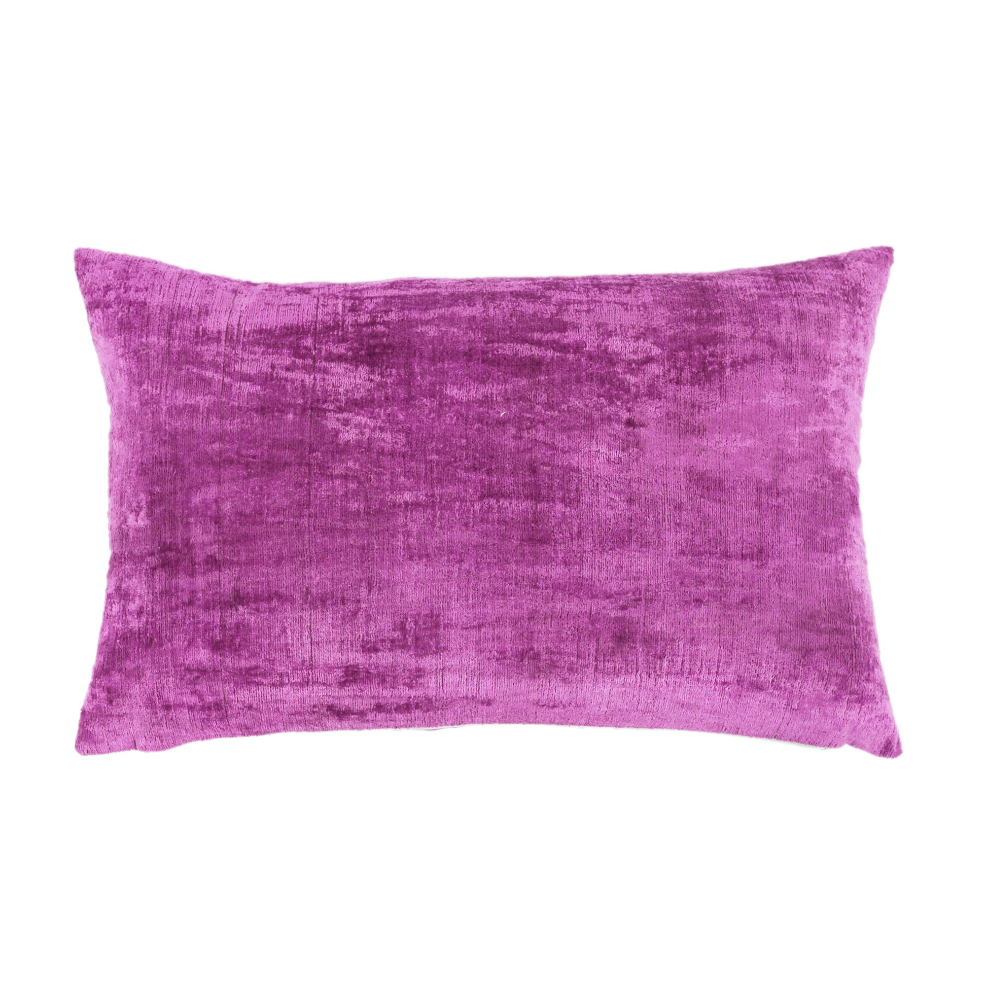Velvet Handwoven Ikat Pillow