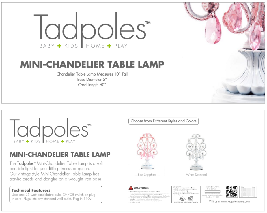 table lamp - Chandelier Table Lamp