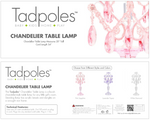Load image into Gallery viewer, Chandelier Table Lamp