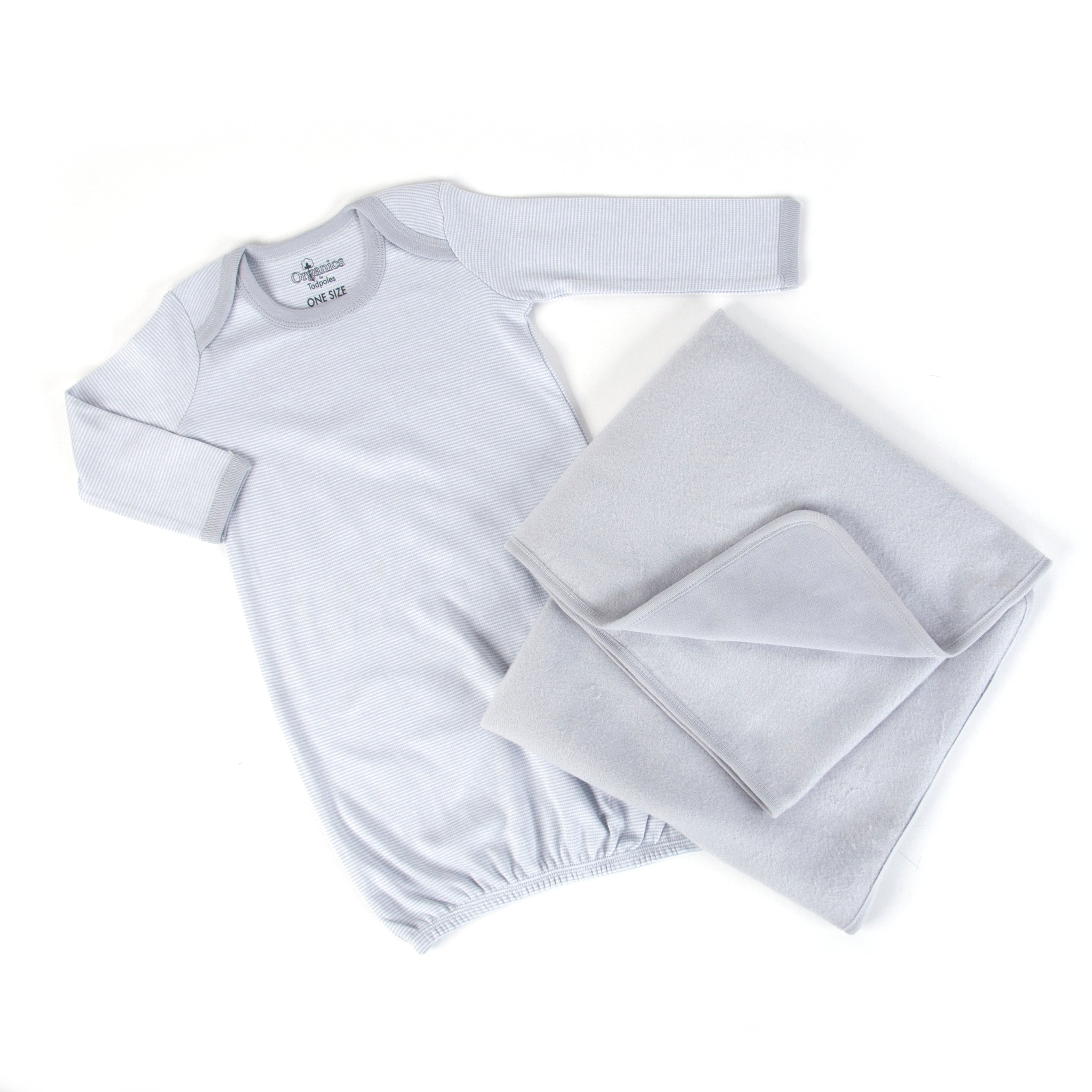 Tadpoles Organic Cotton Collection in Grey