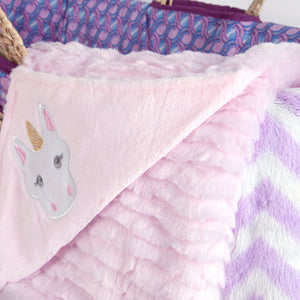 Limited Edition Unicorn Moses Basket Gift Set