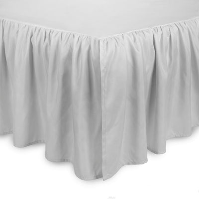 Microfiber Dust Ruffle Twin Bed Skirt