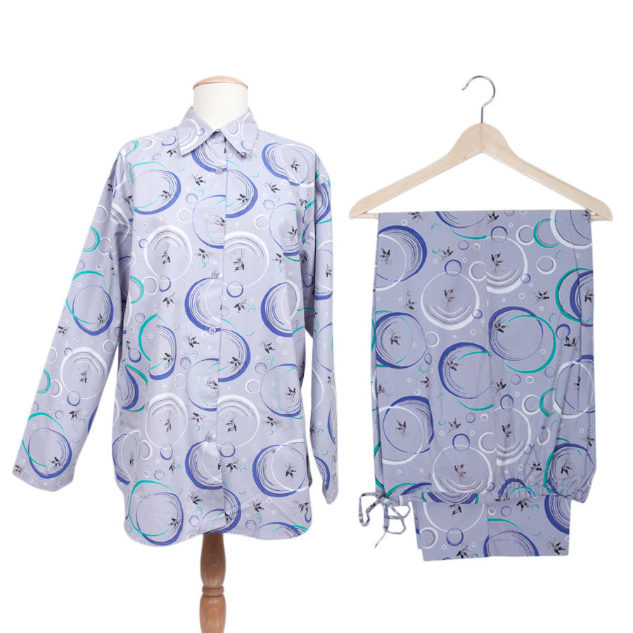 Birds & Bubbles Women's Pajamas