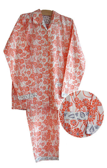 Chinese Umbrella Women's Pajamas