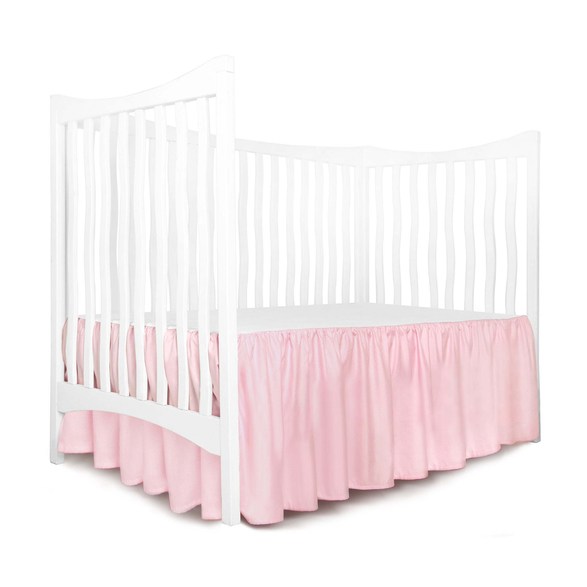 skirt list wish and gray collection bed tailored p white to nursery coral pc set in the add crib city