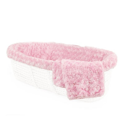 Moses Basket & Twisted Fur Bedding