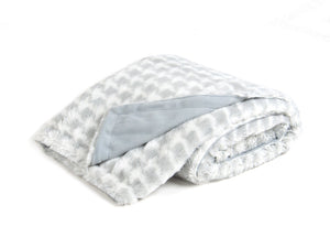 Houndstooth Plush Double Layer Blanket