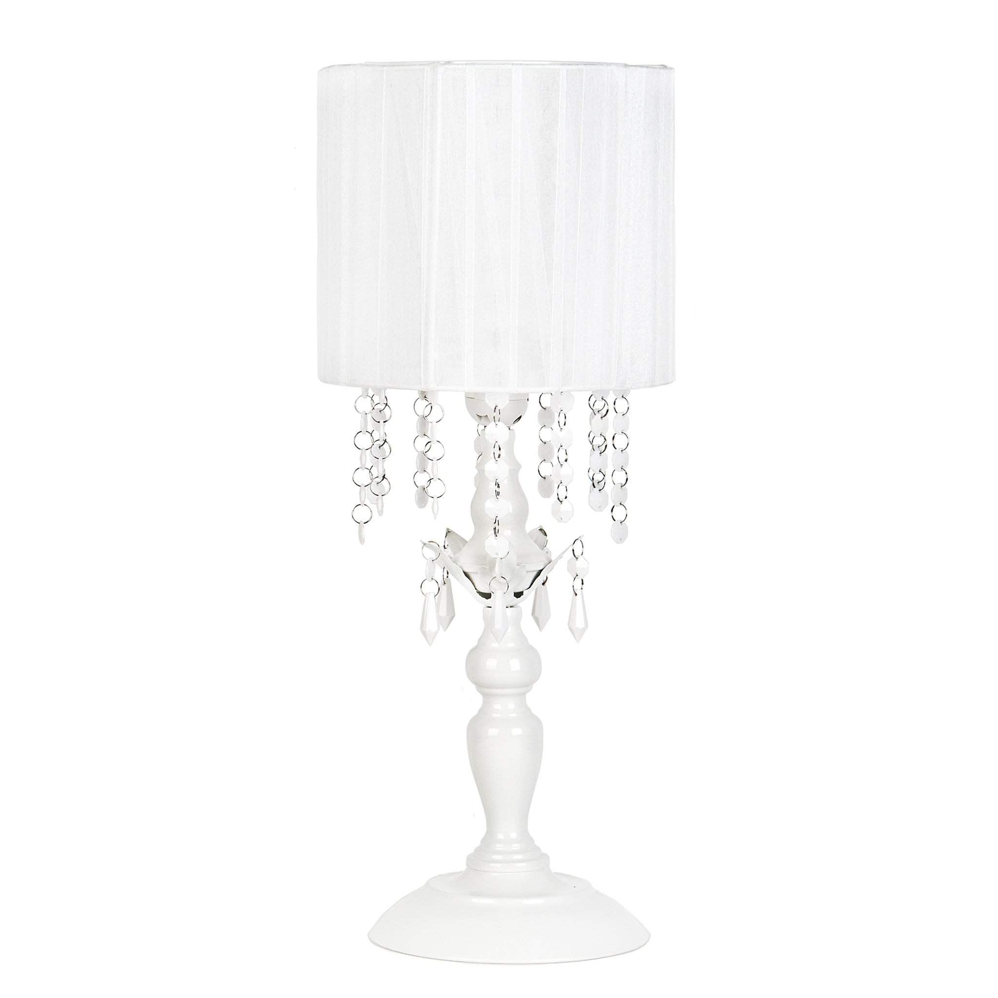 Shaded Chandelier Table Lamp