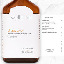 Load image into Gallery viewer, Ingredients - digestwell Herbal Supplement Tincture
