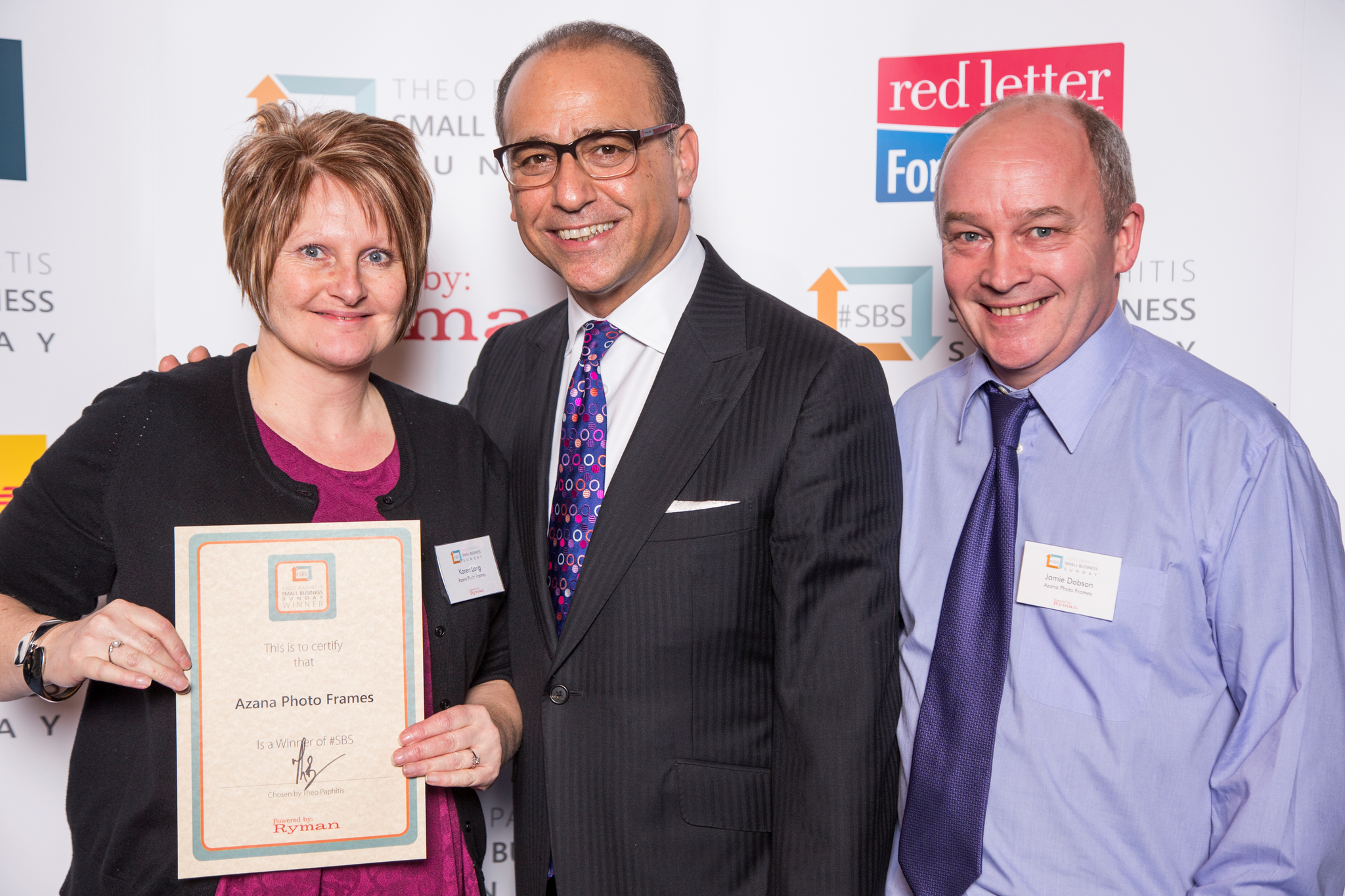 Theo Paphitis - Small Business Sunday winner