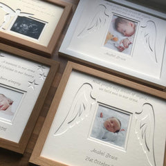 Angel Wings Personalised Memory Photo Frame