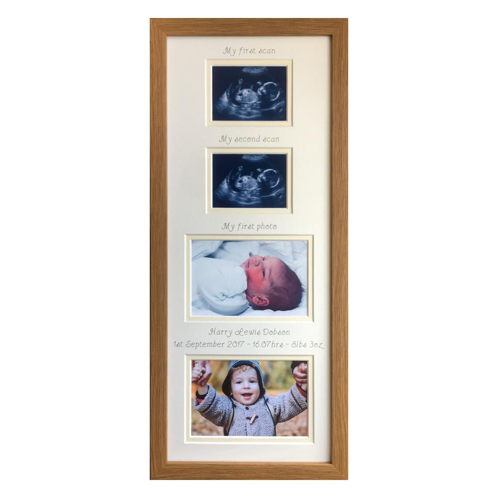 From Scans to First Year Collage Picture Gift | Azana Photo Frames