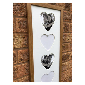 Heart Picture 20 x 8 Oak