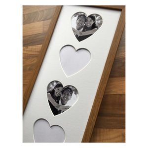 4 Hearts Oak Frame