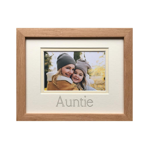 Auntie & Niece photograph frame