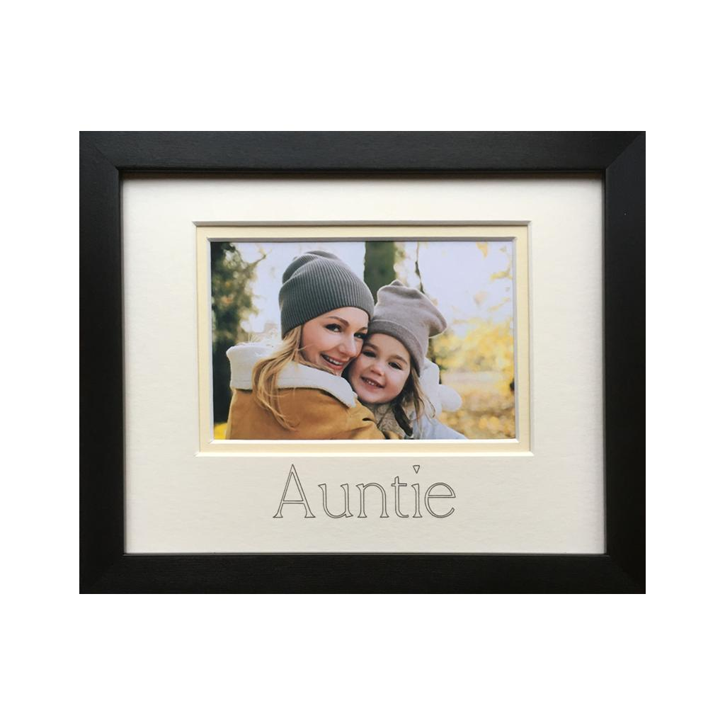 Auntie And Uncle Photo Frames