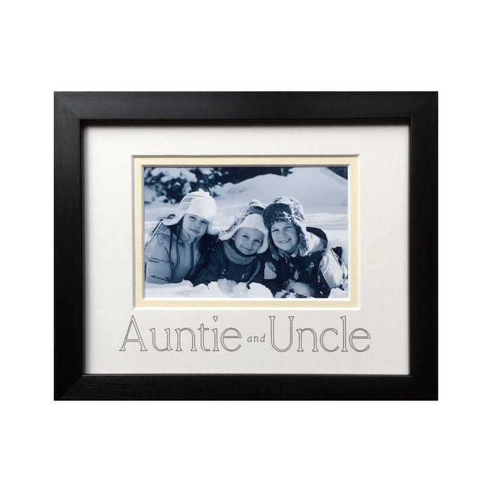 Auntie & Uncle Photograph Frame