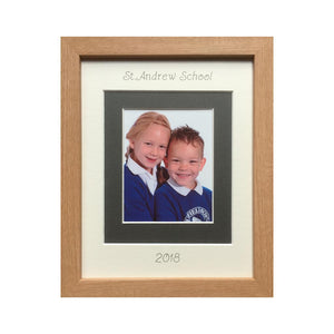 Personalised School Photo Frame - Portrait