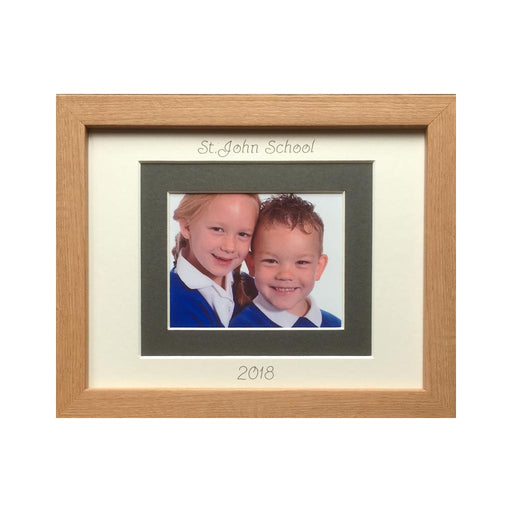 Personalised School Photo Frame - Landscape