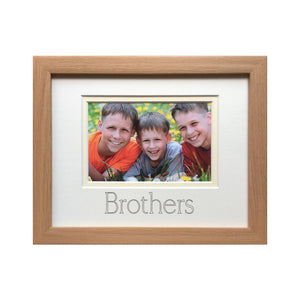 Brothers Photograph Frame