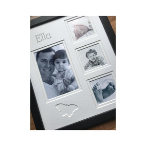 Personalised Name Butterfly Photo Frame