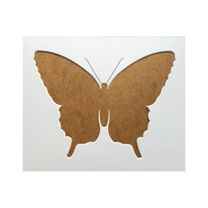 Butterfly Silhouette Picture Mount