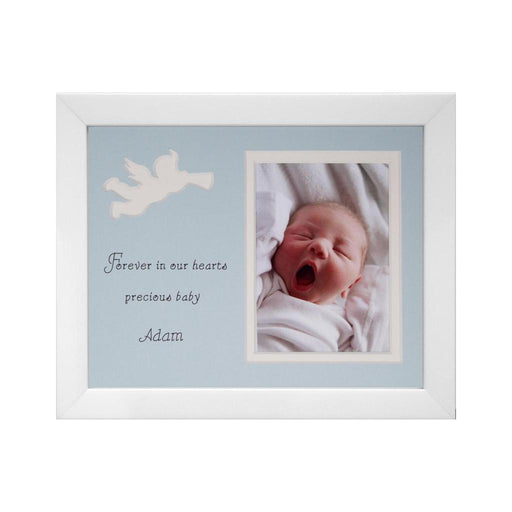 Cherub Angel Photo Frame - Boy