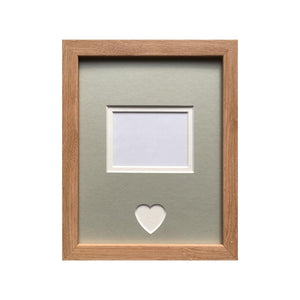 Customise 1st Scan Picture Frame - Grey Mount