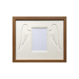 Custom Angel Wings Dark Oak - 6x4 photo
