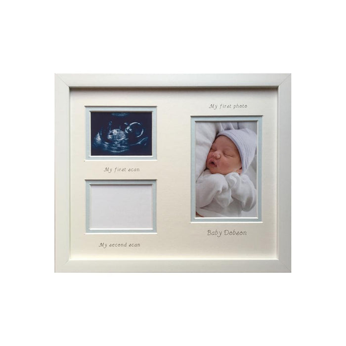 Boy 2 x  Scan First Photo Frame Portrait